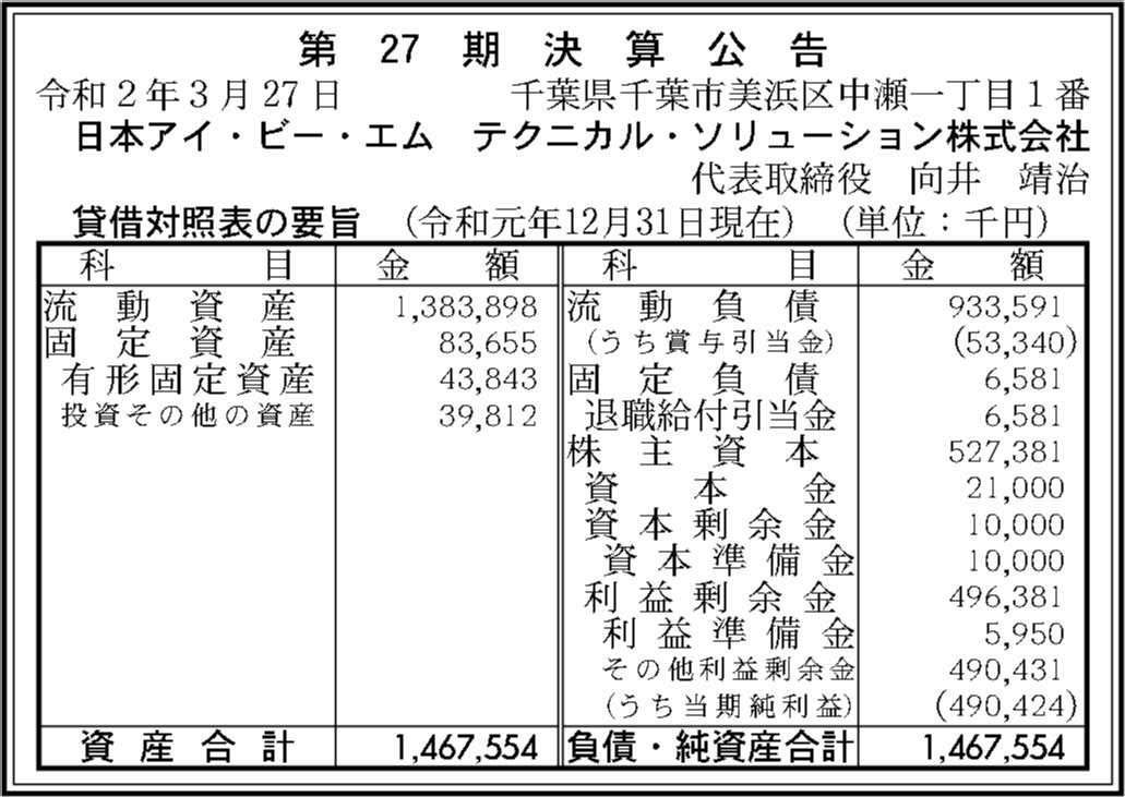 日本 アイ ビー エム サービス 株式 会社