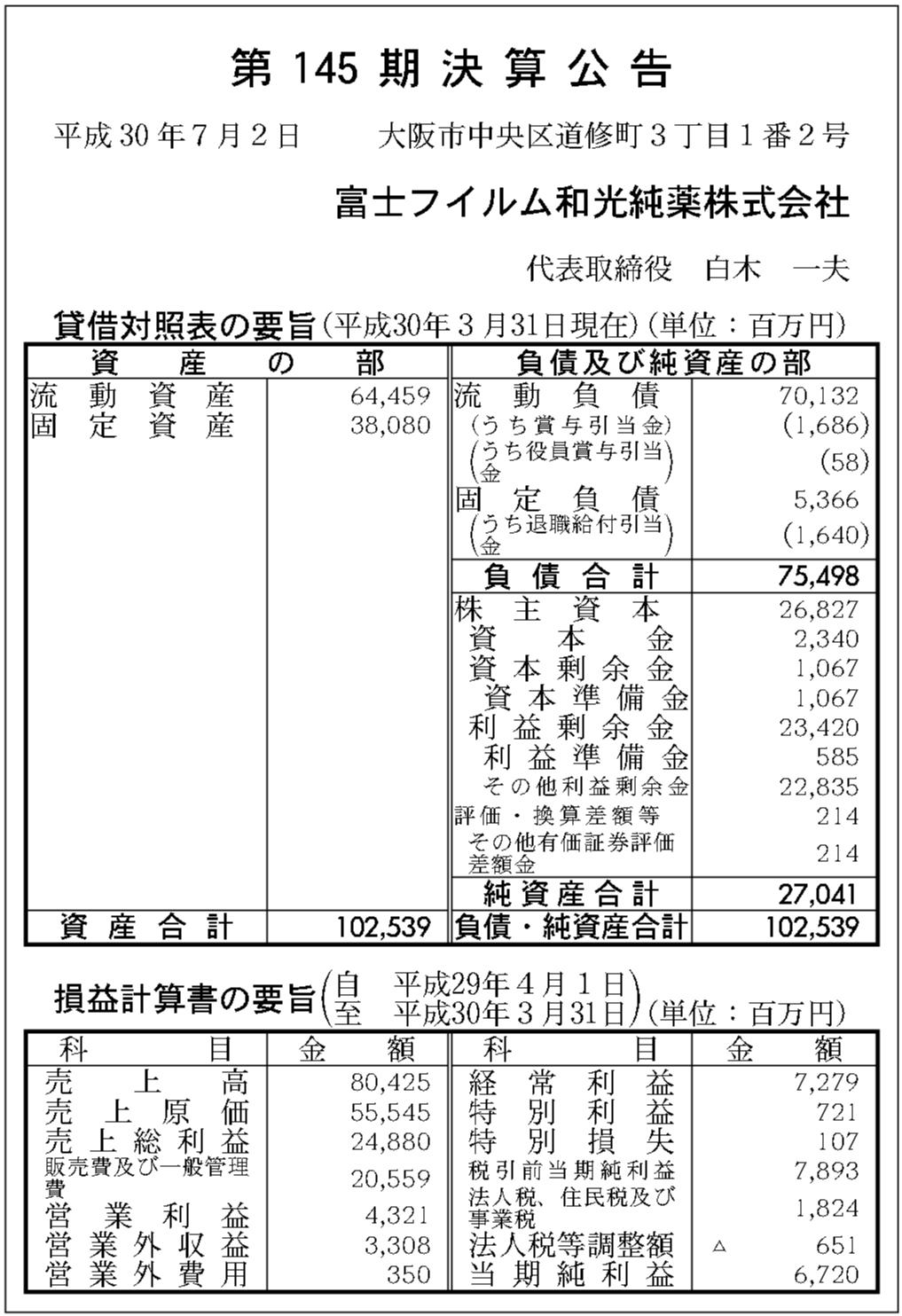 富士 フイルム 和 光純 薬 工業 株式 会社